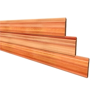 133 x 18mm Shiplap Tonge And Groove Eased Edge Cedar Cladding - Per Linear Metre