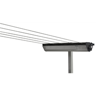 Austral Woodland Grey RetractAway Clothesline Post