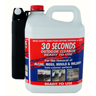 30 Seconds 5L Outdoor Cleaner With Power Sprayer