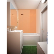 Bellessi 445 x 2600 x 4mm Polymer Bathroom Panel - Horizon