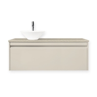 Forme 1200mm Colourstone / Sandy Day Quay Bell Wall Hung Vanity Unit