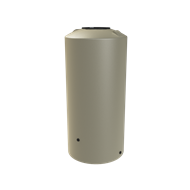 Melro 1005L Poly Round Water Tank - Smooth Cream