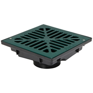 Reln 200mm Green Vortex Uni-Pit With Flat Grate