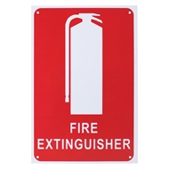 Family First Fire Extinguisher Location Sign