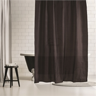 Barelli Midnight Slate Polyester Shower Curtain