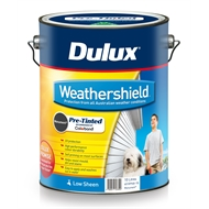Dulux 10L Weathershield Monument Low Sheen