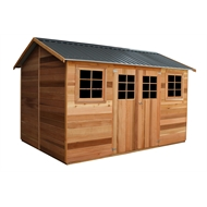 STILLA 3.64 x 2.53 x 2.55m Willow Cedar Shed