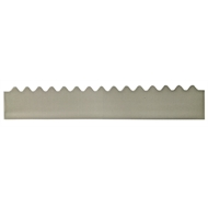 GumLeaf 1200mm Colorbond Metal Corrugated Gutter Guard - Basalt