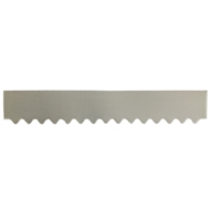 GumLeaf 1200mm Colorbond Metal Corrugated Gutter Guard - Classic Cream