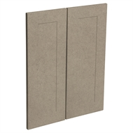 Kaboodle Raw Board Alpine Corner Wall Cabinet Doors - 2 Pack