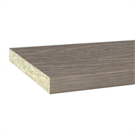 InBuilt Colourboard 1800 x 445 x 16mm Ancient Oak E1l Melamine Sheet