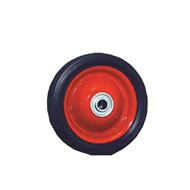 Ambassador 200mm Metal Centre Rubber Wheel
