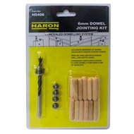 Haron 6mm Dowel Joining Kit