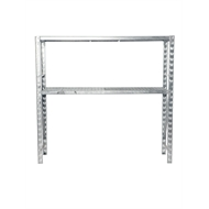 Rack It 1800mm x 600mm Galvanised Double End Upright