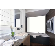 Bellessi 300 x 1200 x 4mm Polymer Bathroom Panel - Winter Breeze