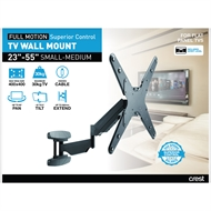 Crest Medium Full Motion TV Wall Mount With Superior Control