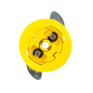 GripIt® 15mm Yellow Plasterboard Fixing - 4 Pack