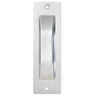 Flush Pull Rectangular Vp Gb 115x35mm Sc Pk2 392scc