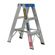 Gorilla 0.9m 120kg Industrial Double Sided Aluminium Step Ladder
