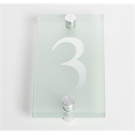 Sandleford 80mm 3 Glass Numeral