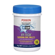 Hy Clor 1kg Pool Blackspot And Algae Remover Bunnings