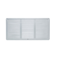 Builders Edge 200 x 400mm Aluminium Eave Vent - Twin Pack