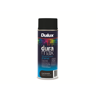 Dulux Duramax 340g Flat Black Spray Paint