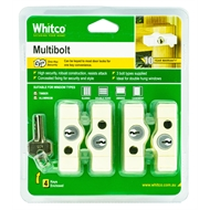 Whitco Primrose CYL4 Multi Bolt - 4 Pack