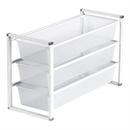 Flexi Storage White 3 Runner Frame