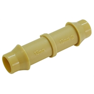 Holman 13mm Beige Barbed Poly Joiner