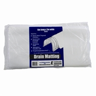 Everhard 2 x 6m White Drain Matting