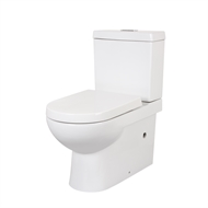 Mondella WELS 4 Star 3L - 4.5L/min White Rococo Back To Wall Toilet Suite