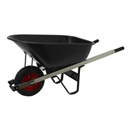 Saxon 100L Poly Tray Wheelbarrow
