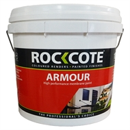 Rockote 10L Armour Low Sheen Extra Bright Base High Performance Membrane Paint