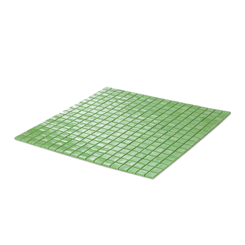 Decor8 298 x 298 x 4mm green glass mosaic tiles bunnings for Decor8 tiles
