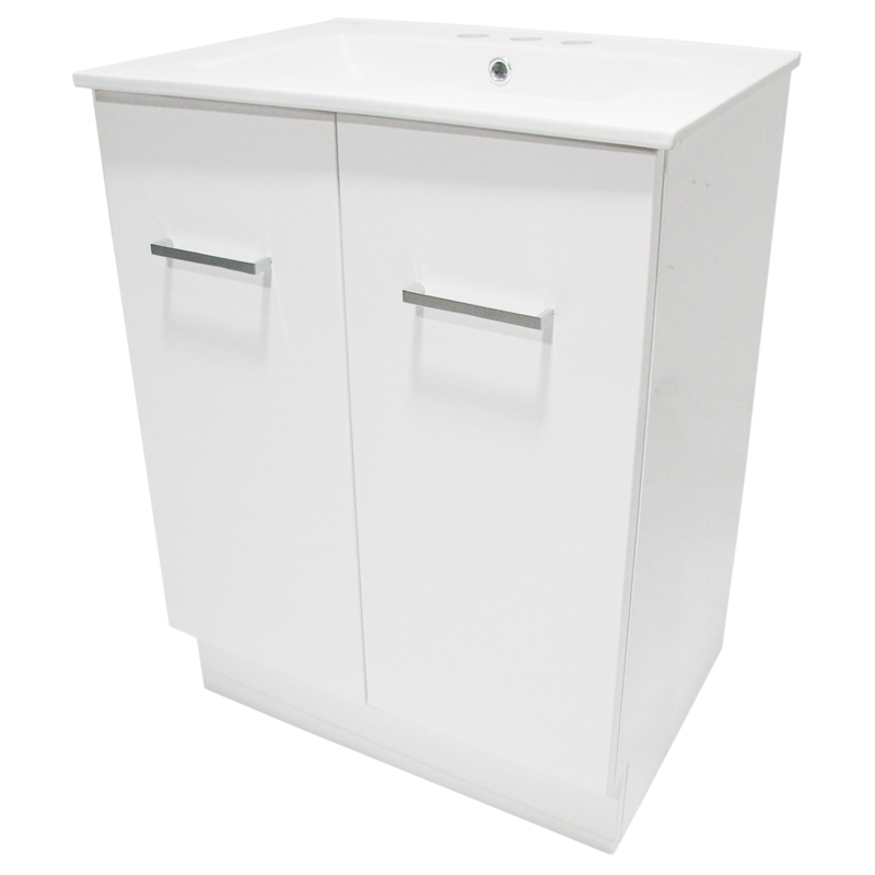 600 x 460mm Cadenza Vanity Unit With 3 Tap Holes