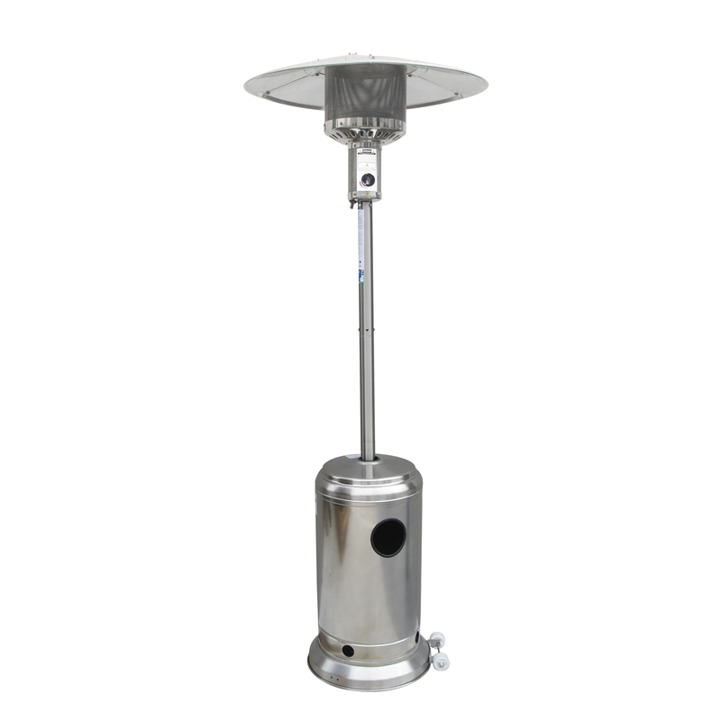 Fiammetta Stainless Steel Gas Patio Heater Outdoor