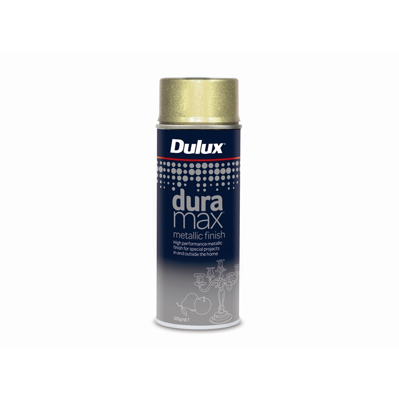 Dulux Duramax 325g Metallic Gold Spray Paint Bunnings Warehouse