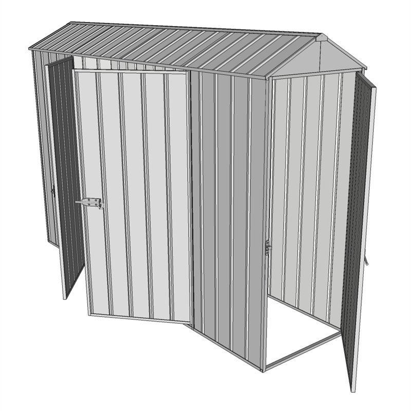 Build a shed 0 8 x 3 0 x gable double hinged side for 12x8 shed with side door