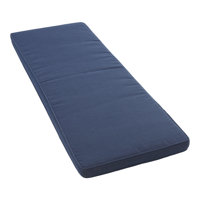 Cushion Outdoor Mimosa 136x45cm Bench Blue I/N 3191150 | Bunnings