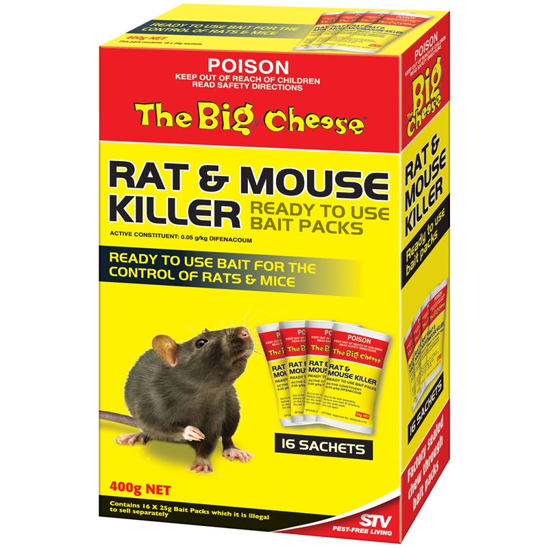 the big cheese rat and mouse killer instructions