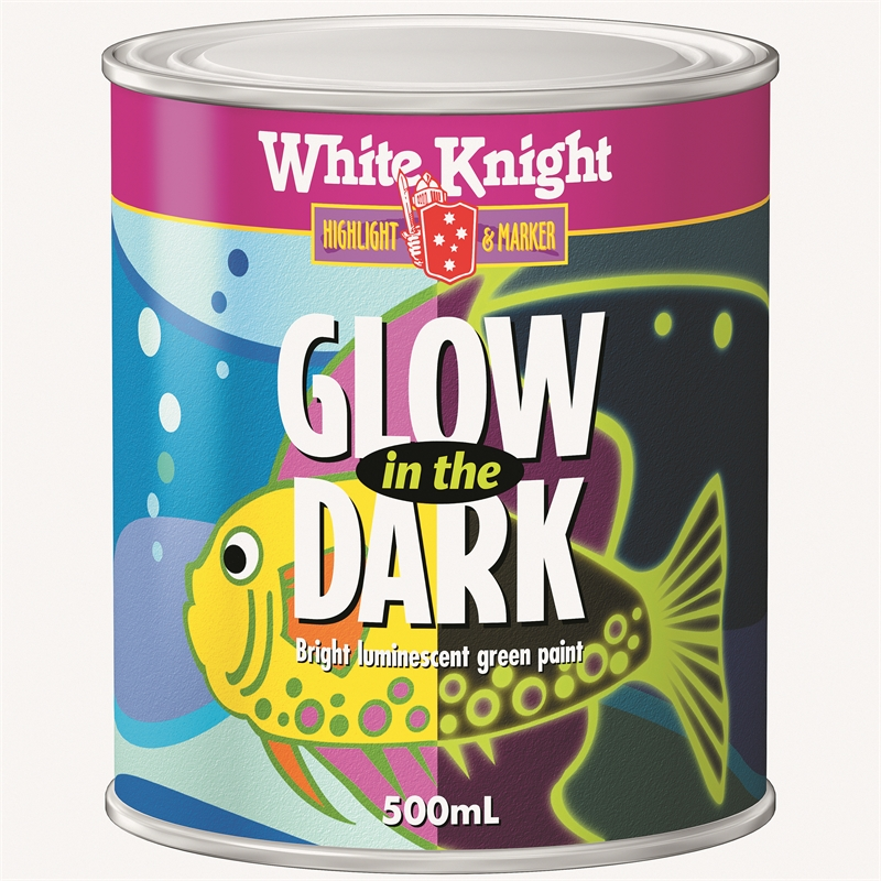 view the video about white knight glow in the dark paint. Black Bedroom Furniture Sets. Home Design Ideas