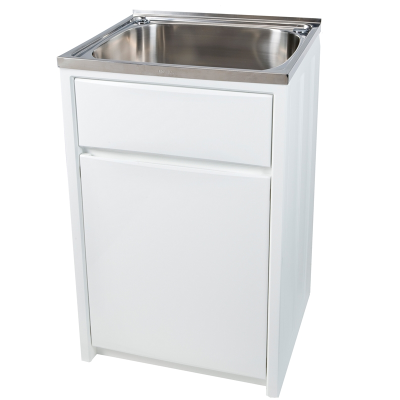 Everhard 45L Project Laundry Trough and Cabinet eBay