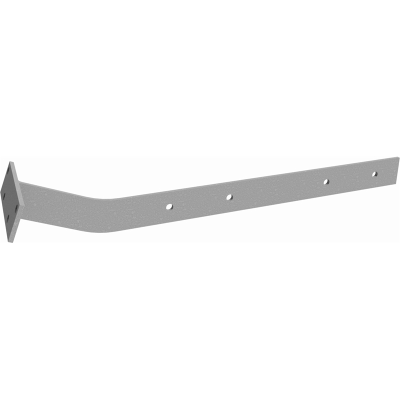 Dunnings 22° Galvanised Extended Fascia Bracket