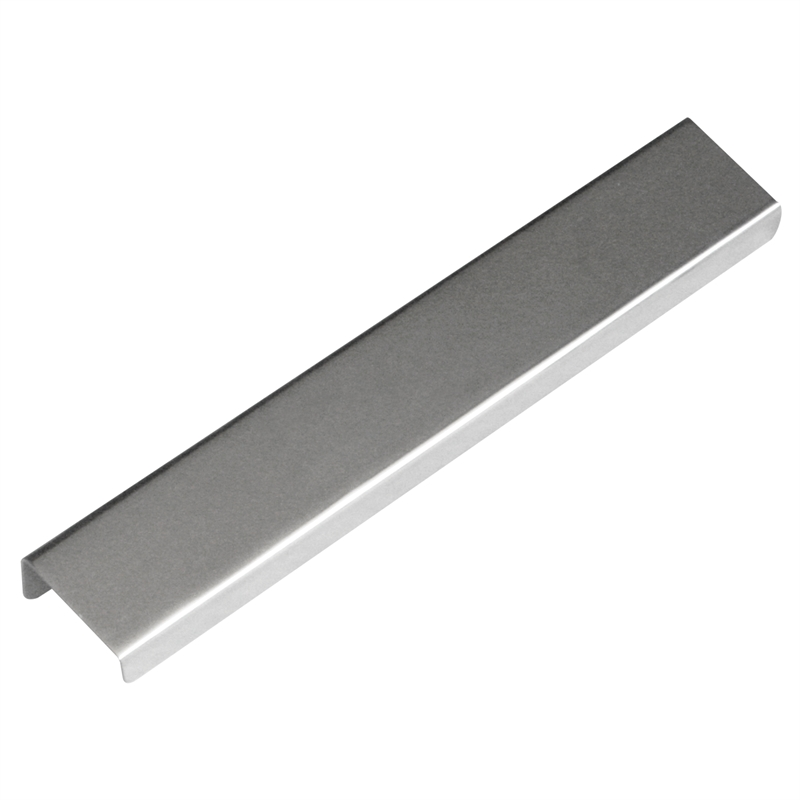 kaboodle 160mm chrome discreet grip handle bunnings warehouse