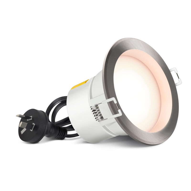 50w Led Flood Light Bunnings: HPM 7W 90mm LED Dimmable Downlight