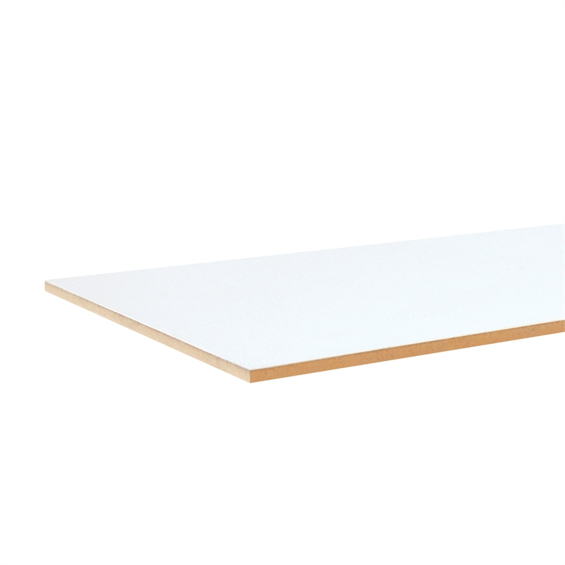 Customwood mdf mm white melamine sheet