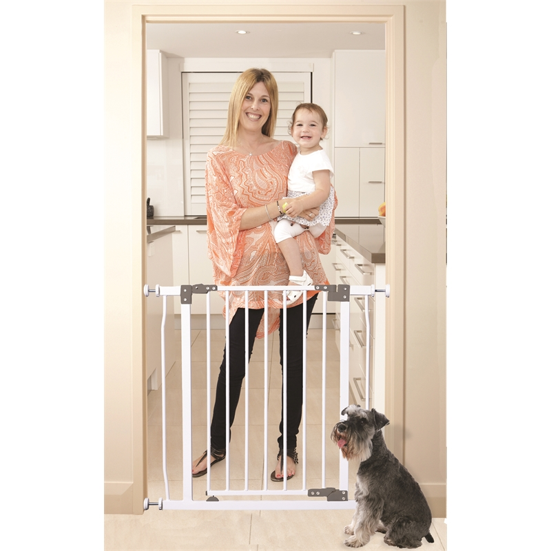 Dreambaby Child Safety Liberty Safety Gate White Bunnings Warehouse