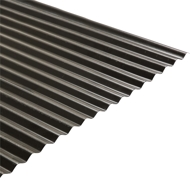 Colorbond 840mm x 16mm x 2 4m Woodland Grey Corrugated Roofing
