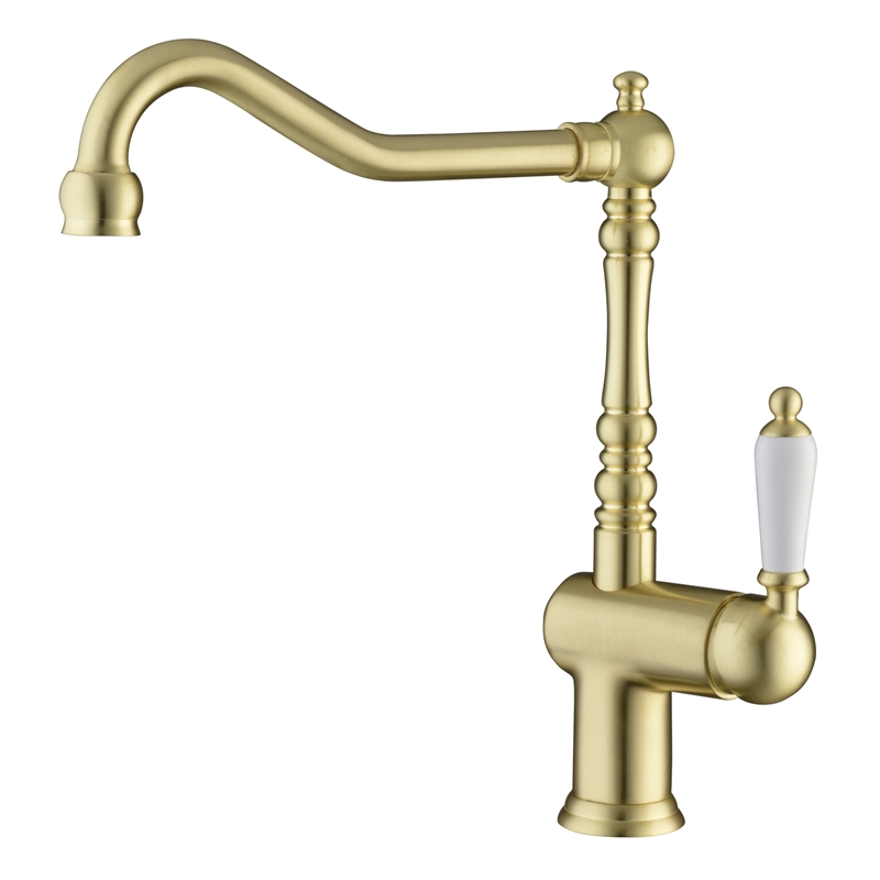 Maestro Brass Lever Handle Sink Mixer